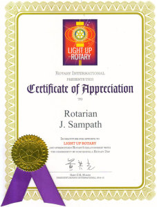 rotary-certificate